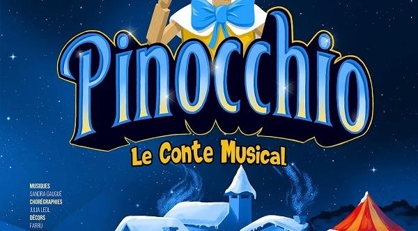 Enfin un spectacle musical et poétique du plus espiègle des pantins : Pinocchio au Théâtre de Paris, une réussite!