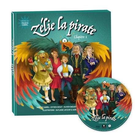 """Une idée cadeau merveilleuse pour la fin d' année? Offrez  un conte audio magnifique """"Zélie la pirate"""" d'Aurélie Cabrel !"""
