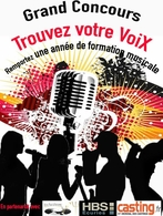 Participez au casting Vocal Music Performing et tentez de remporter une année de formation musicale dans les Studios HBS !