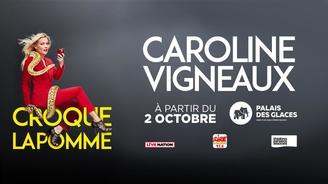 """""""Croque la pomme"""" le nouveau one show de Caroline Vigneaux à voir absolument!"""