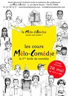 Cours Melo-Comédie: Une nouvelle école de théâtre humoristique ouvre ses portes à Paris et on vous offre une formation!
