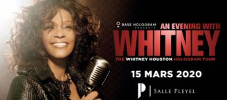 Rencontrez la légende Whitney Houston en assistant à son concert holographique grâce à Casting.fr