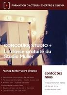 Le Studio Muller et casting.fr vous offre une formation complète de 5 mois, intégrez l'école de comédiens maintenant et que ce confinement vous lance dans une nouvelle carrière!