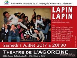 """Retrouvez Régine Lacour, une comédienne de Casting.fr sur scène dans """"Lapin Lapin"""""""