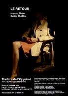 """""""Le Retour"""" une pièce énigmatique d'Harold Pinter, à voir au Théâtre de l'Opprimé à Paris !"""