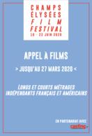 """Casting.fr partage un """"Appel à Films"""" pour figurer au Champs Elysées Film Festival !"""