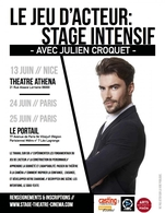 Casting.fr collabore pour la seconde fois avec Julien Croquet pour ces stages intensifs de jeu d'acteur