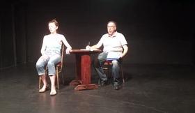 j ai peur version scene theatre avec Florence & Joseph Rezwin