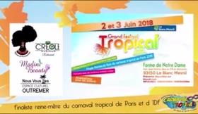 Portrait au Concours Carnaval Tropical 2018