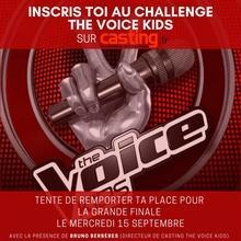 Casting jeune chanteur et chanteuse pour l'émission The Voice Kids 2022