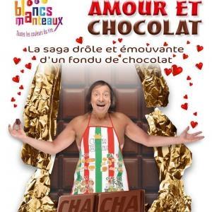 """Paolo Touchoco, membre de Casting.fr, joue son one man show """"Amour et Chocolat"""""""