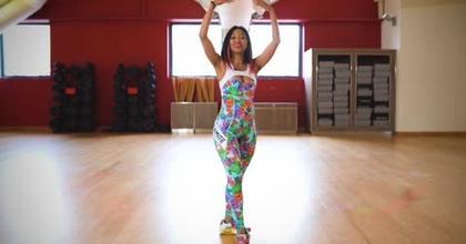 Davina Samba Tutoriels teaser warm up entrainement