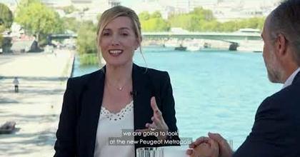 Animation et production d'un évènement phygital pour le lancement du scooter de Peugeot Motocycles