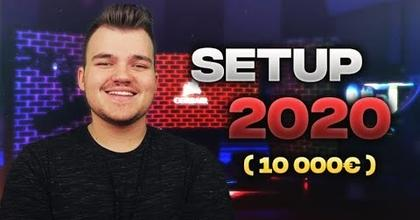 MON SETUP GAMING ROOM 2020 !! (10 000€)