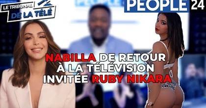 Nabilla de retour à la télévision - Invitée Ruby Nikara
