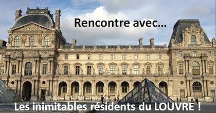 Rencontre rigolote avec... les inimitables résidents su Musée du Louvre - KFilhoulaud